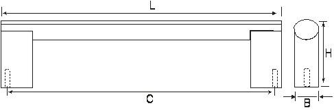Ручка мебельная E743