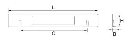 Ручка мебельная E755