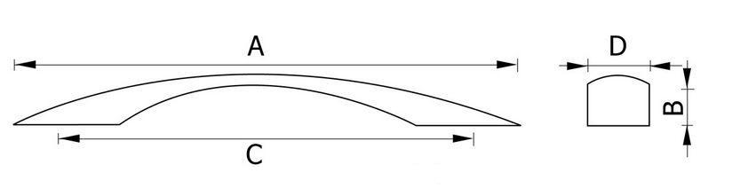 Ручка мебельная RC120