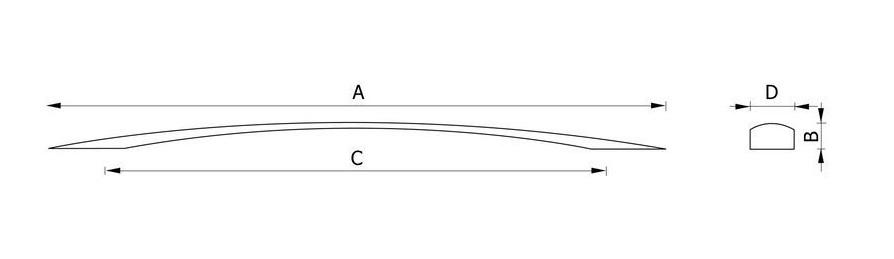 Ручка мебельная RC121