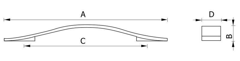 Ручка мебельная RC144