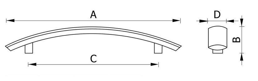 Ручка мебельная RH111