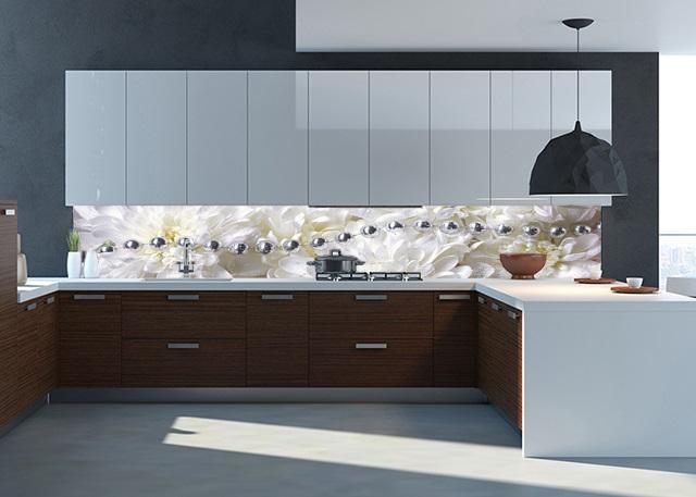 Кухня с фартуком SP-008