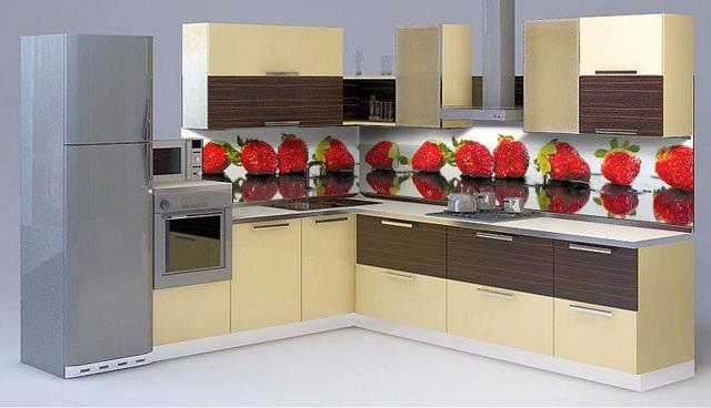 Кухня с фартуком SP-031