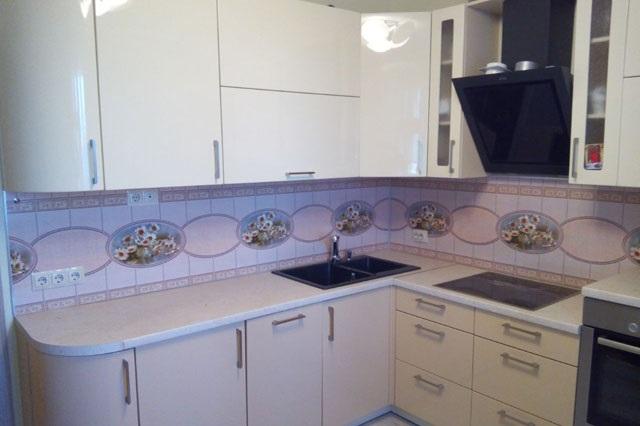 Кухня с фартуком SP-023