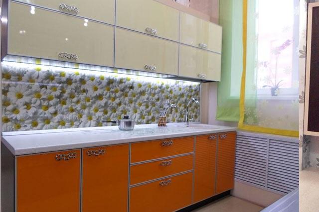 Кухня с фартуком SP-019