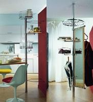 Стойки для интерьера кухни, прихожей, ванной