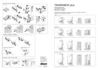 Монтаж и установка Tandembox BLUM.