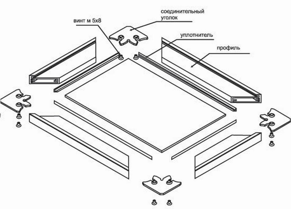 Как сделать алюминиевые фасады 235