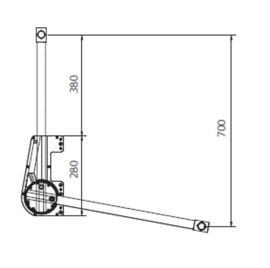 пантографы для шкафов-купе схема монтажа