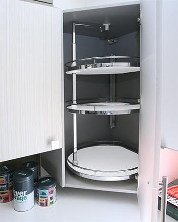 Твистер 500 Анти-Слип для угловых шкафов Аксессуары для кухни KESSEBOHMER