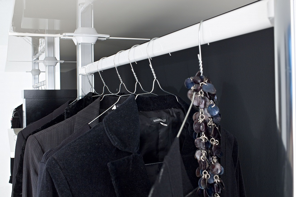 Держатель гардеробной штанги гардеробная система stilos.